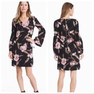 White House Black Market Flower dress